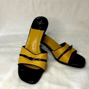 Life Style Cute Sandals with woven uppers